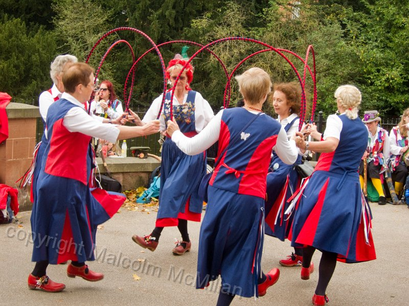 Dancing at 'speakers Corner' Lichfield