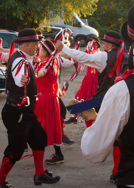 @Old Meeg' Morris dancers at the Camp Grimley
