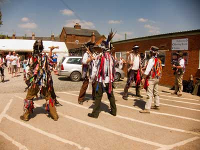 Alvechurch Morris men in action